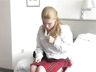 Free teenage blonde porn Blonde blue eyed teenage girl caned
