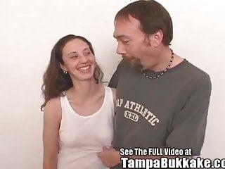Tampa toni sucks bukkake Khandies fresh out of jail tampa bukkake gang bang