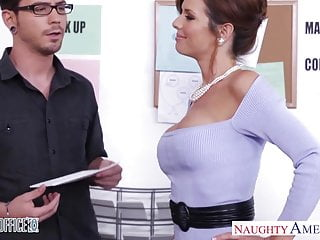 Office blowjob videos Stockinged veronica avluv fuck in the office
