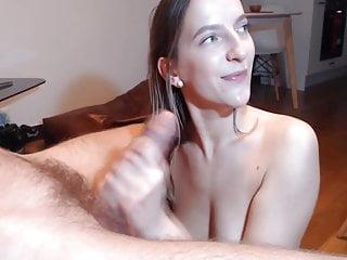 Cock hard love sucking - Horny gf loves to suck big hard cock