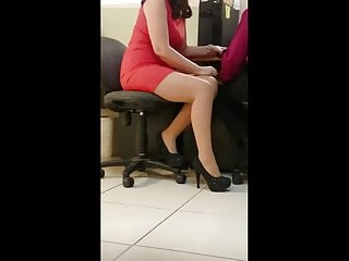 Voyeur hidden cameras office - Beautiful office milf 3
