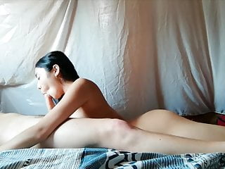 Asian Girlfriend Gives Rimjob And Blowjob With Ending Facial