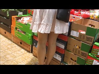 Octoberfest and upskirt and video Spyshot hidden cam sexy legs and upskirt in public