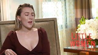 Saoirse Ronan interview for ''Little Women'' press tour