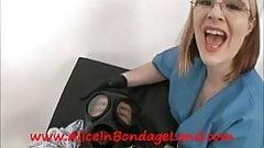 Evil Dr Puts You Under Gasmask Bubbler Mistress FemDom