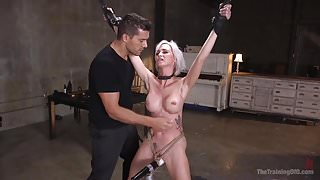 Submissive Slave Astrid Star Fucked and Beaten