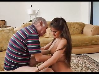 Old men porno Orgie old men and young girls