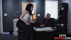 Bigtit milf sucks detective cock before sex