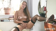 Stunning Amateur Babe Masturbates Just for You