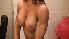 AS topless flexing 4