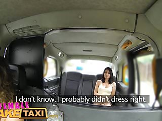 Sexy fake - Female fake taxi sexy american minx fucks and licks pussy
