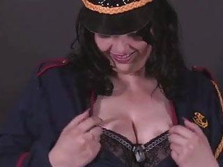 Xlxx uniform porn - The romanian bbw-goddess alicia - huge-boobs in uniform