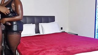 African Couple Make Loves BDSM. Hung African Prince Breeds