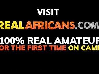 Free repairman sex video African amateur fucks the repairman