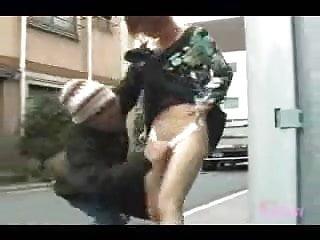 Nude jap guy Guy pulls down panties on 38 jap chicks