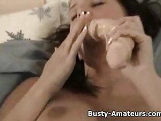 Masturbation injury causes pus - Busty amateur gianna sucking her tits and masturbates her pu