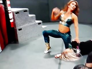 Mickie james breasts - Mickie james slip thong