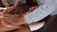 Mimi Allen hot massage