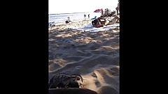asian exhibitionist on oka's nude beach