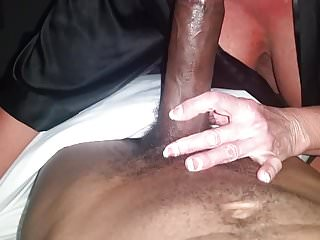 2 cocks and my throat video Hot busty blonde milf cougar luvs 2 deep throat my young bbc