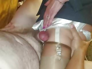Dick fucking a dick Doctor dick fucking my wifes garter straps
