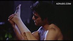1977 movie white satin panty bikini scene