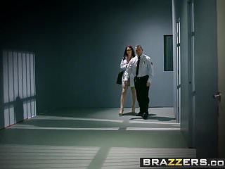 Busty adventures cum Brazzers - doctor adventures - jailhouse fuck three scene s