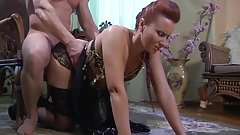 Anal sex with a Russian lady