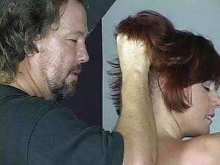 Group of nudes Nude redhead with nice tits and ass is whipped in bdsm dungeon
