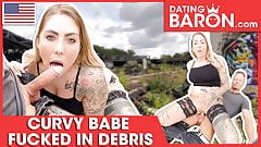 Filthy open-air fucking for busty Mia Blow! Datingbaron.com