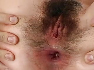 Anal gay cum Closeup hairy ass not gay creampie