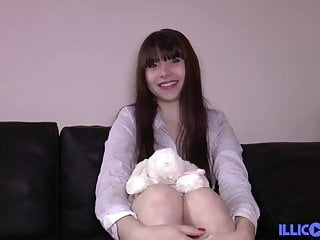 French teen star - Luna rival, the debut of a french porn star