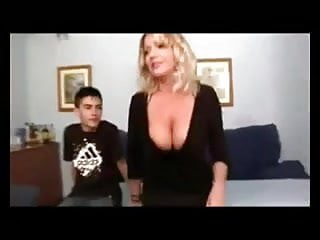 Mom son blowjob movie Real hot mom and not her son work in porn movie