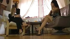 Visit After Business - Sexy shoes dangle
