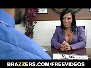 Mommy lesson sex videos Brazzers - officer worker gets a lesson in group sex