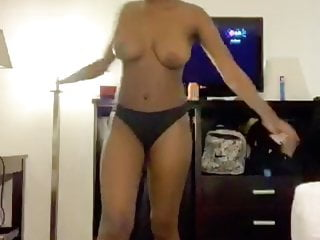 Watch her walk around naked Walk around naked 2