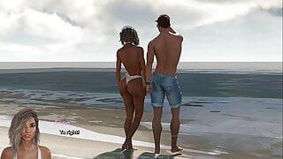 The Adventurous Couple: Cuckold, Black Guy Fucks A White Wife