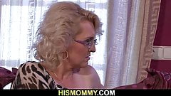 Mature lesbian woke her up for some lesbian action