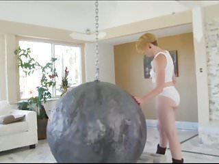 Miley cyrus breasts fake - Miley cyrus wrecking ball xxx version