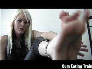 Cum swapping your own cum - Cei making you eat your own cum
