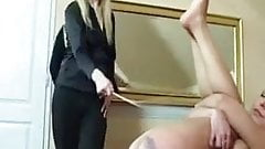 The pleasure of a caning