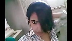 Very hot indian beautiful girl showing boobs at bathroom