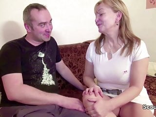 Mom masturbation movies - Hairy mom and dad in first time porn casting movie