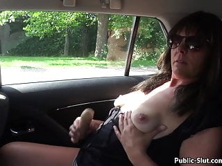 Wife mouth cum compilation tubes Hot fun in public with naughty slutwife