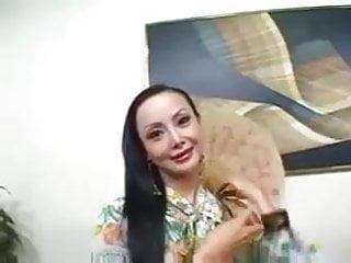 Chews asian beaver ange Asian slut ange venus gets fucked