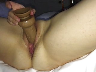 Hotel wife fuck pics Hotel wife fucks herself with dildo and vibrator