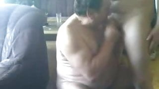 Daddy Fucked In The Couch