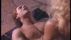 Ginger Lynn gets poolside shagging