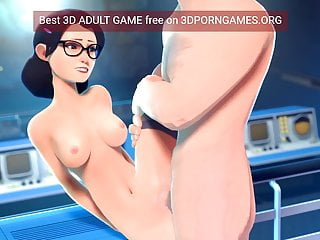 Sexy anime games funny games biz blonde girl Best 3d game animations