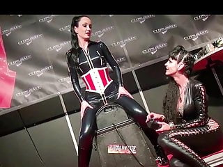Sex on a sybian Orgasm on a sybian in live show